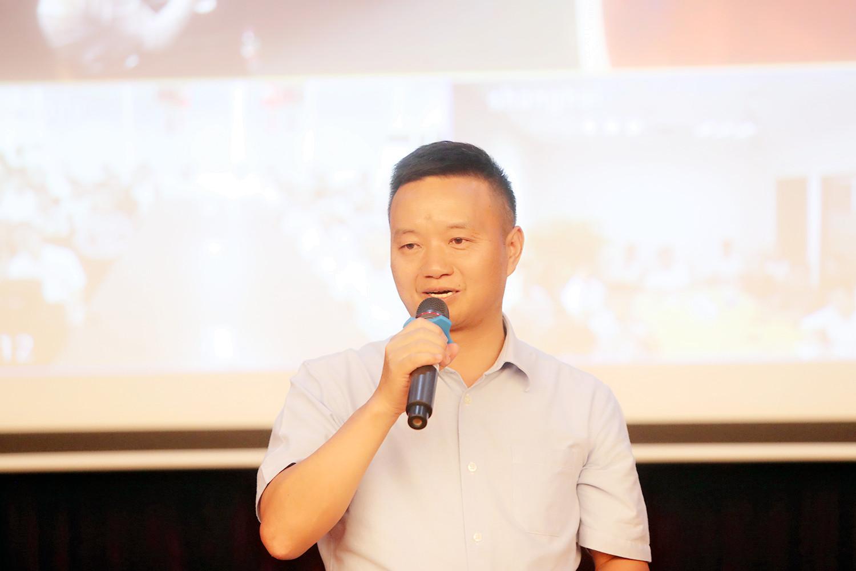 金证股份总裁李结义总致辞